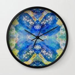 Kaleidoscope Awakening Wall Clock