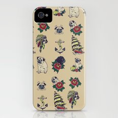 Pugs and the sea iPhone (4, 4s) Slim Case