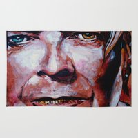 bowie Area & Throw Rugs featuring Bowie by Ray Stephenson