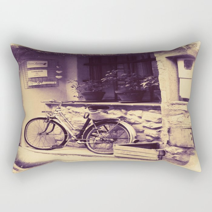 Vintage Day Out Rectangular Pillow