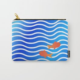 Fish Couple Carry-All Pouch