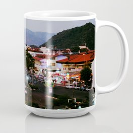 This view makes me feel happy! Coffee Mug