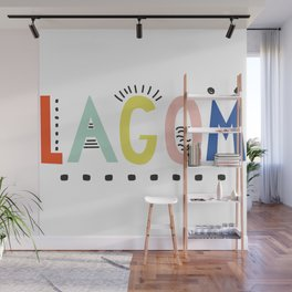 Lagom colors Wall Mural