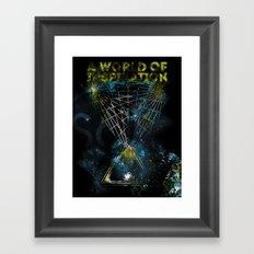 A World of Inspiration Framed Art Print