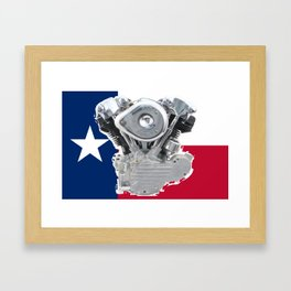 Lone Star Knuckle Framed Art Print