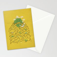 The Bearded City Stationery Cards