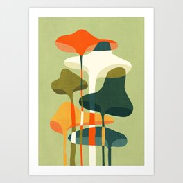 Little mushroom Kunstdrucke