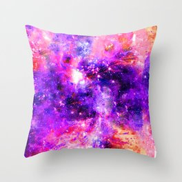 We're Nothing Yet Everything In This Universe Throw Pillow