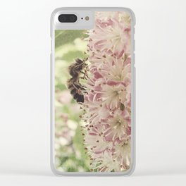 nature does not hurry Clear iPhone Case