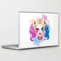 harley Laptop & iPad Skins featuring Suicide Harley by Awdrey