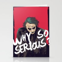 joker Stationery Cards featuring Joker  by FourteenLab