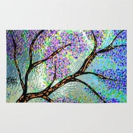 Lavender Branch Rug