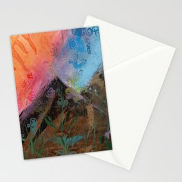 The Colors Of the Mountains We Climb Stationery Cards