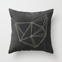 geo Throw Pillows featuring Geo by Last Call