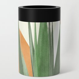 Abstract Agave Plant Can Cooler