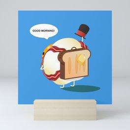 Good Morning - Breakfast Egg Mini Art Print