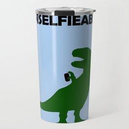 Unselfieable T-Rex Travel Mug