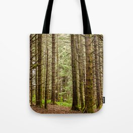 Old Growth Forest Photography Print Tote Bag