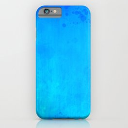 Water Blue iPhone Case