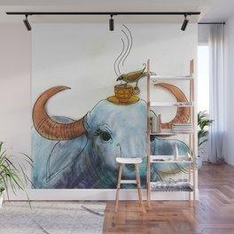 Sharing Coffee Wall Mural