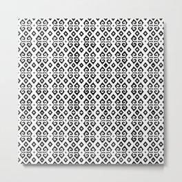 mextile Metal Print