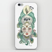 anxiety iPhone & iPod Skins featuring Anxiety by Melissa Smets