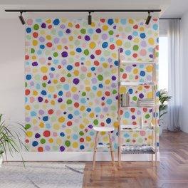 Dot Painting Wall Mural