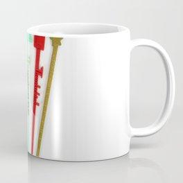 Vintage Las Vegas Swizzle Sticks Coffee Mug