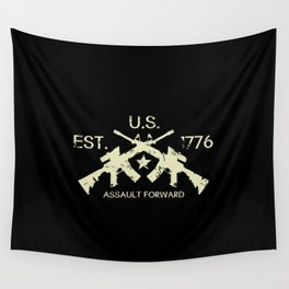 M4 Assault Rifles - U.S. Est. 1776 Wall Tapestry
