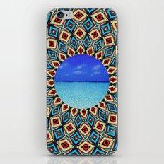 mandala sea iPhone & iPod Skin
