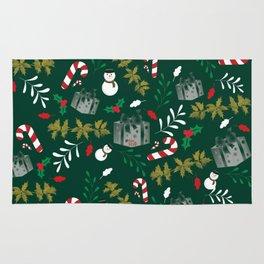 Pattern Green Christmas18 Rug