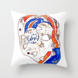 Fuhr - Mask Throw Pillow