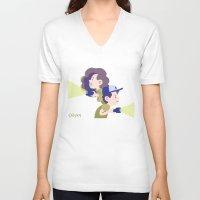 gravity falls V-neck T-shirts featuring Gravity Falls by Aysen Gerlach