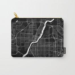 Saskatoon - Minimalist City Map Carry-All Pouch