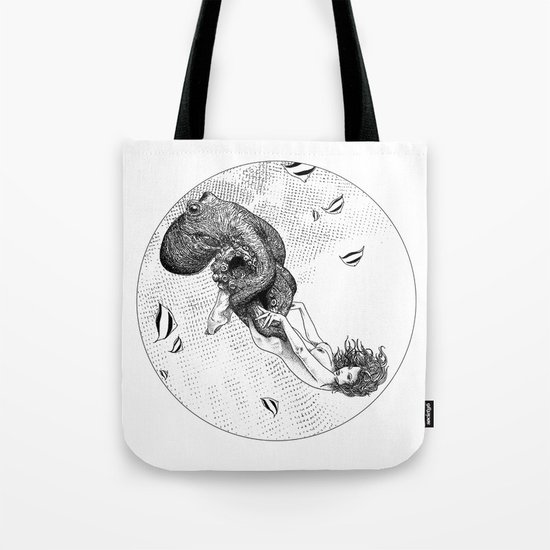 asc 438 - L'attachement pathologique (The stalking) Tote Bag