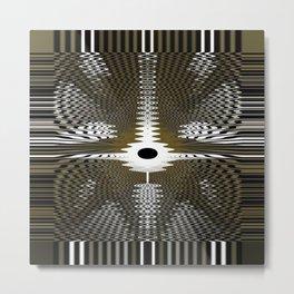 Energy Waves Metal Print
