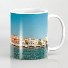 Chania Harbor Mug