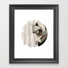 Big Beast Framed Art Print