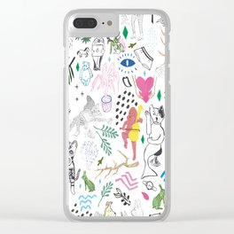 Mix it up yo Clear iPhone Case