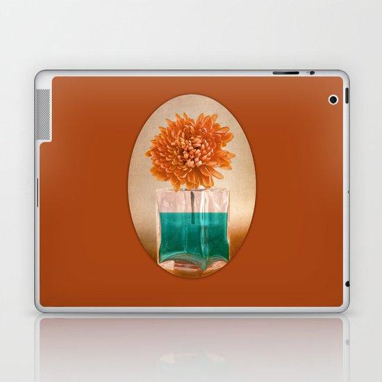 TURQUOISE & ORANGE Laptop & iPad Skin