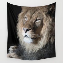 Portrait of a King Wall Tapestry