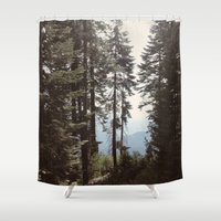 california Shower Curtains featuring California by Katie Corley