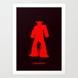 GRENDIZER - UFO ROBOT Art Print