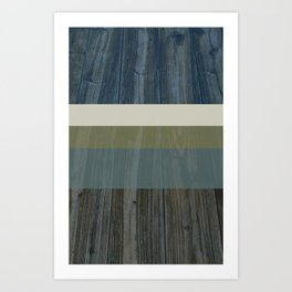 Wood Grain Art Print