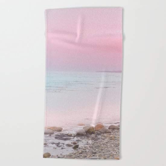 Pastel vibes 65 Beach Towel