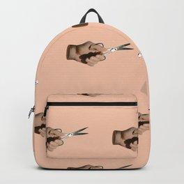 Pattern Cut Backpack