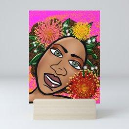She Found Love...Within Mini Art Print
