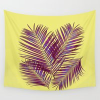 palms Wall Tapestries featuring Palms by  Agostino Lo Coco