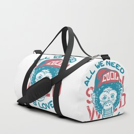 All we need is Love Duffle Bag