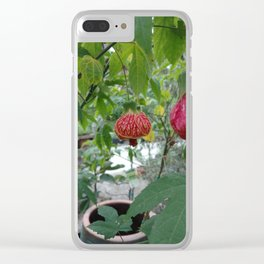 Bell Flower Clear iPhone Case